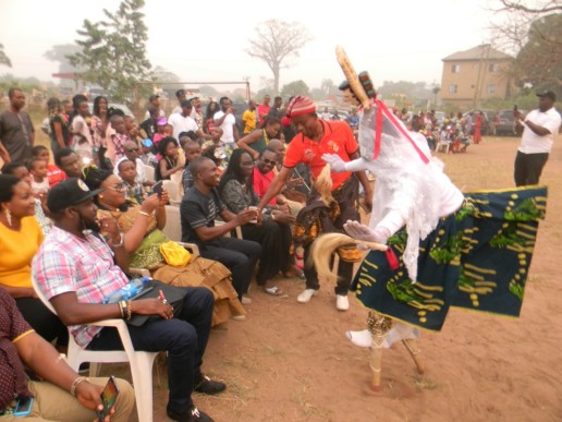 Ekeleke Dance in Awo-omamma